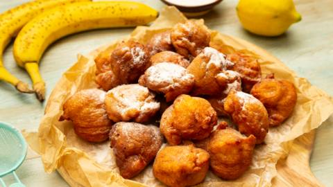 Gogosi cu banane