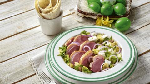Salata cu piept de rata