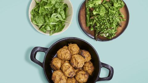 Chiftelute cu legume Bio