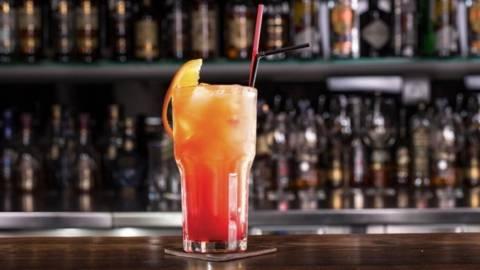 Cocktail de vara din grepfrut