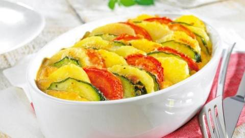 Trio de legume la cuptor