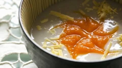 Supa de taro cu dovleac