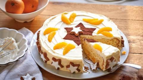 """Tort cu portocale """"Vrajitorul stelelor"""""""