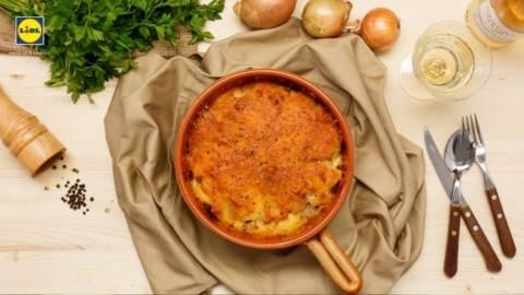 Cartofi gratinati in stil frantuzesc