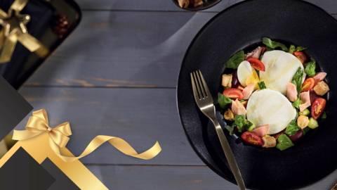Salata de ton cu burrata