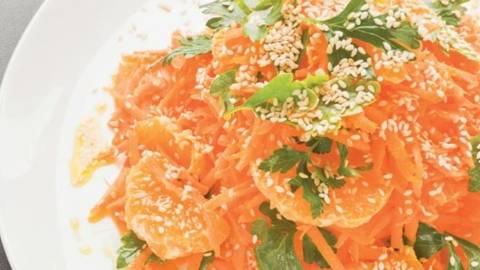 Salata de morcovi cu portocale si susan