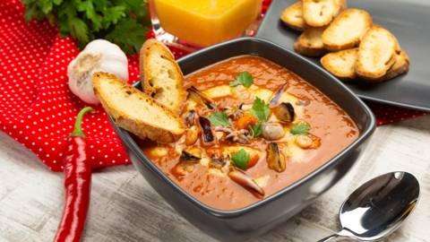 Supa de peste Bouillabaisse