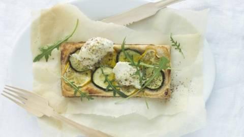 Tarta de zucchini cu tofu