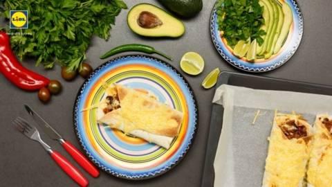 Burrito cu carne de vita