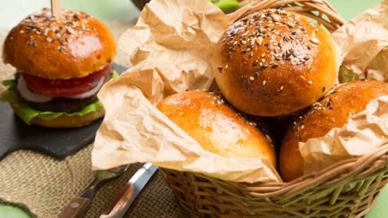 Chifle pentru hamburger