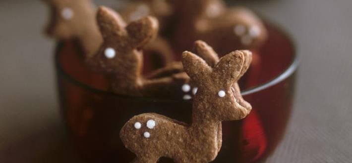 Reni din biscuiti cu ciocolata