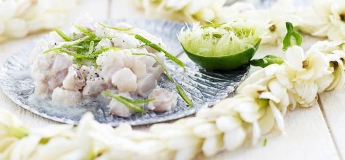 Tartar de pesti marini cu limes