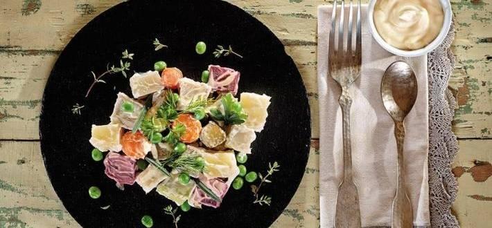 Salata de boeuf cu pulpa de porc