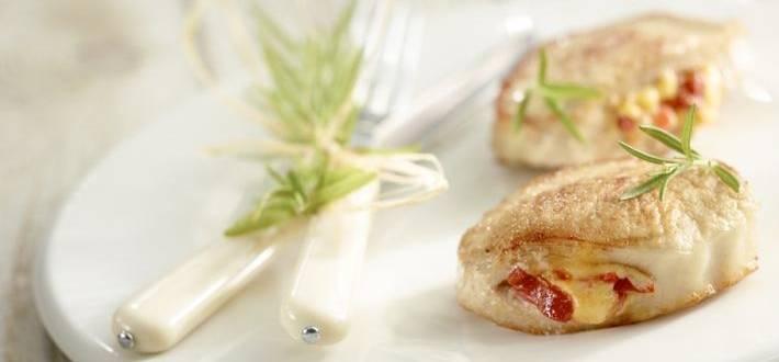 Cotlete de porc umplute cu ardei