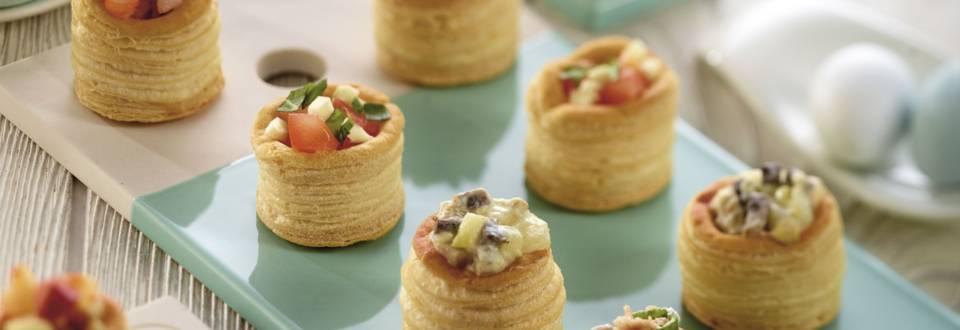 Mini aperitive gratinate