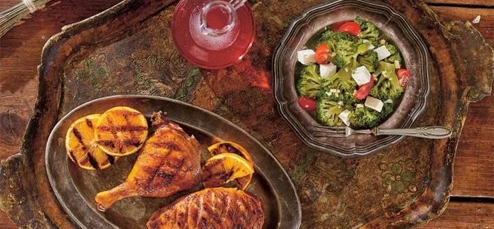 Rata la gratar si salata de broccoli