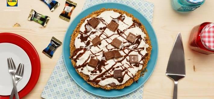 Tarta cu ciocolata si unt de arahide