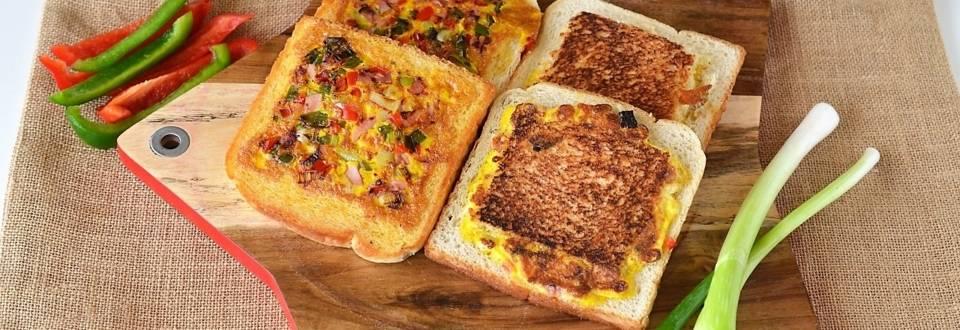 Toast cu omleta