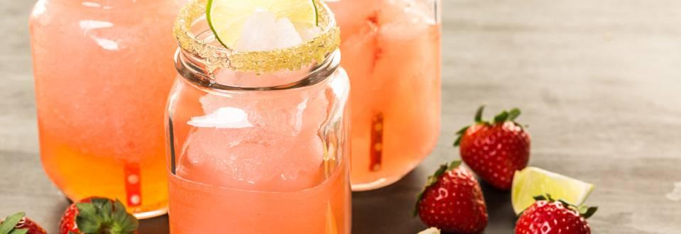 Cocktail cu capsuni fara alcool