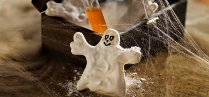Mici Fantome (bezele) de Halloween