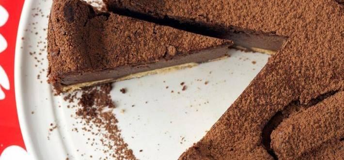 Cheesecake de ciocolata si cafea