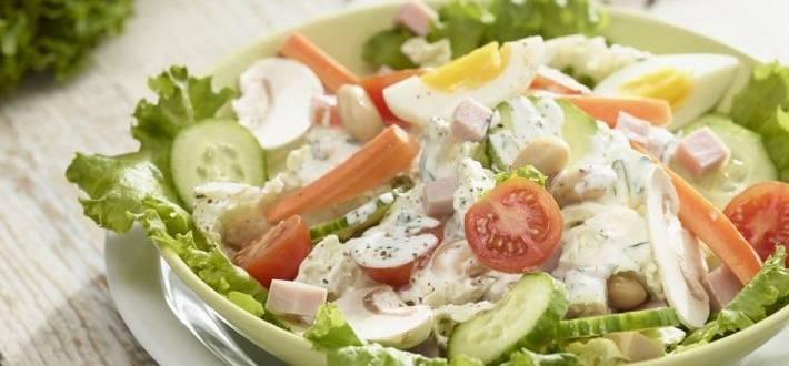Salata Lidl cu iaurt