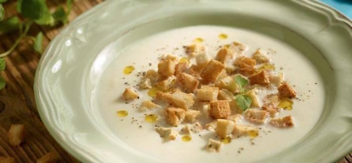 Supa de telina cu cascaval