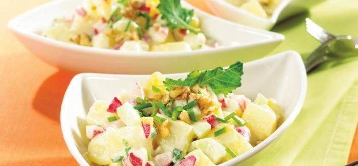 Salata de primavara cu cartofi