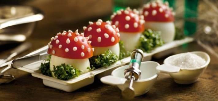 Ciuperci Halloween