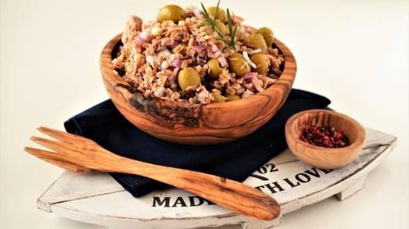 Salata de ton cu arpacas