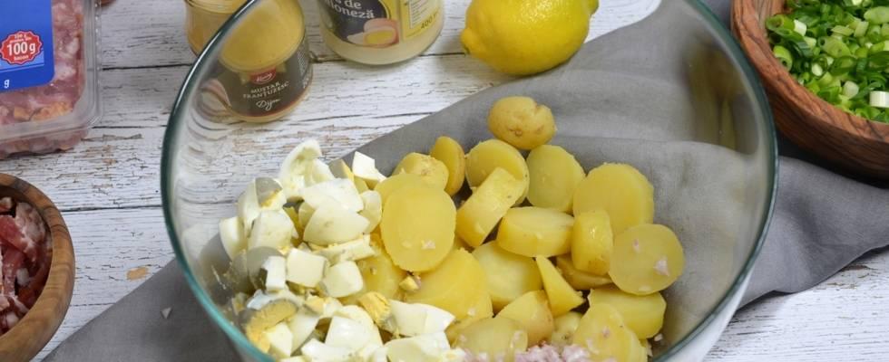 Pasul 1 - Salata de cartofi