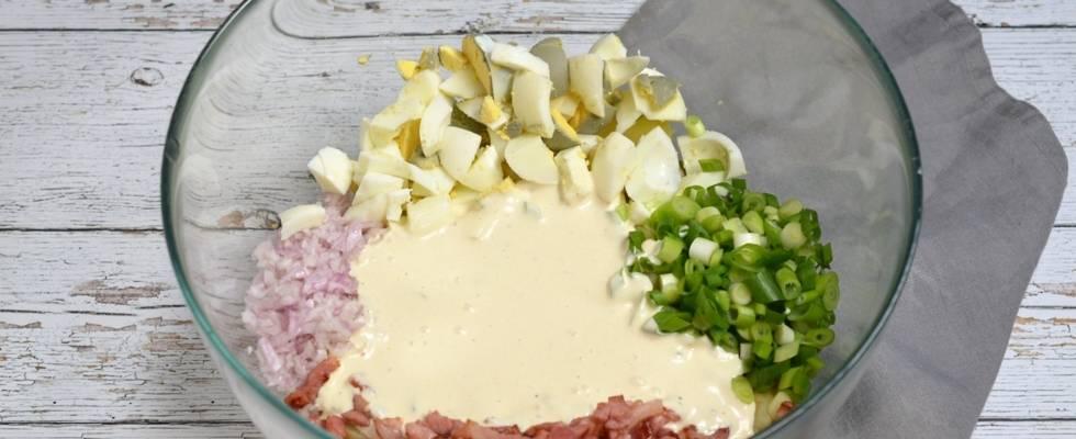 Pasul 4 - Salata de cartofi
